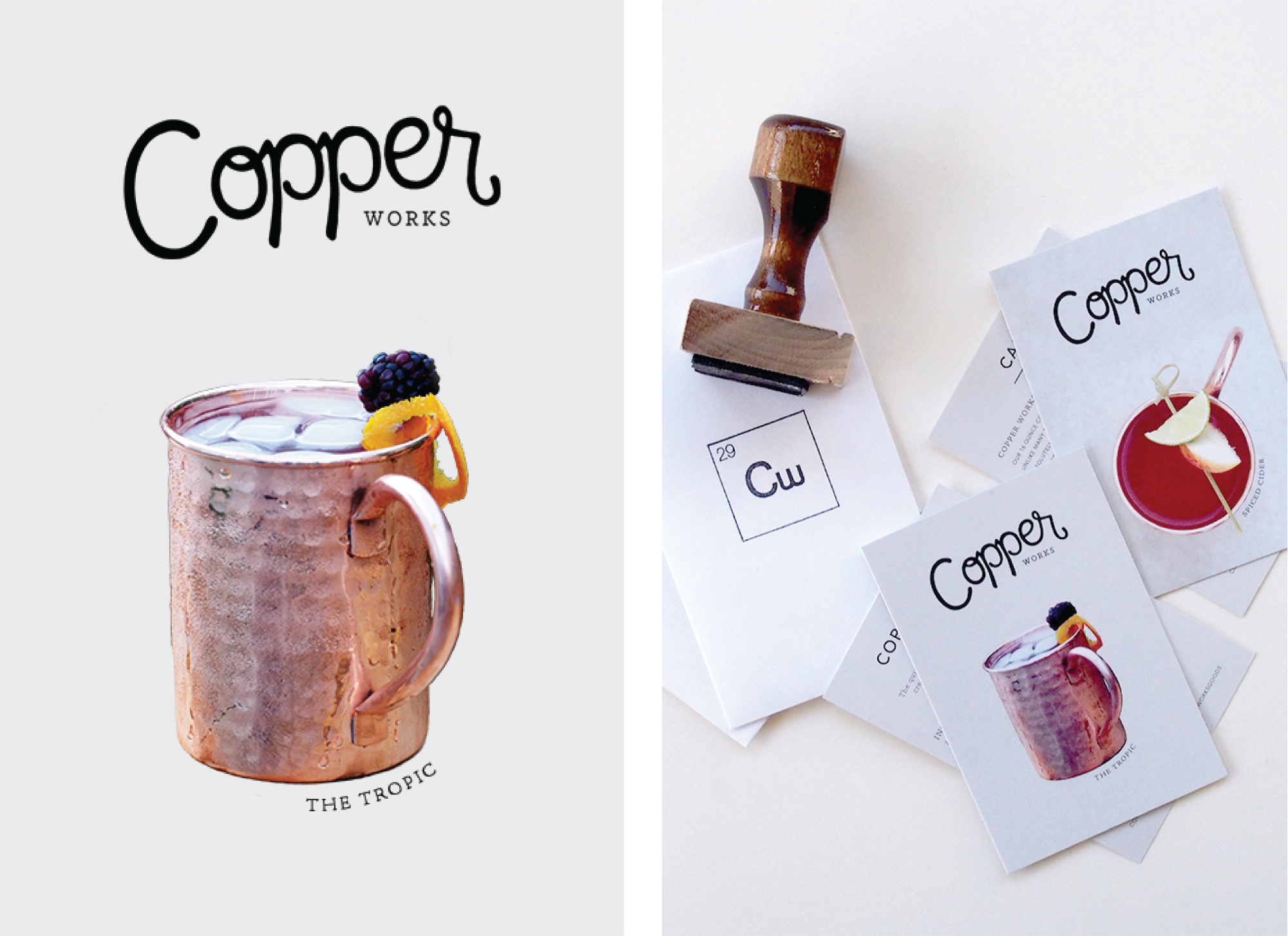 Brand Identity Design for Craft Cocktail Lifestyle Brands