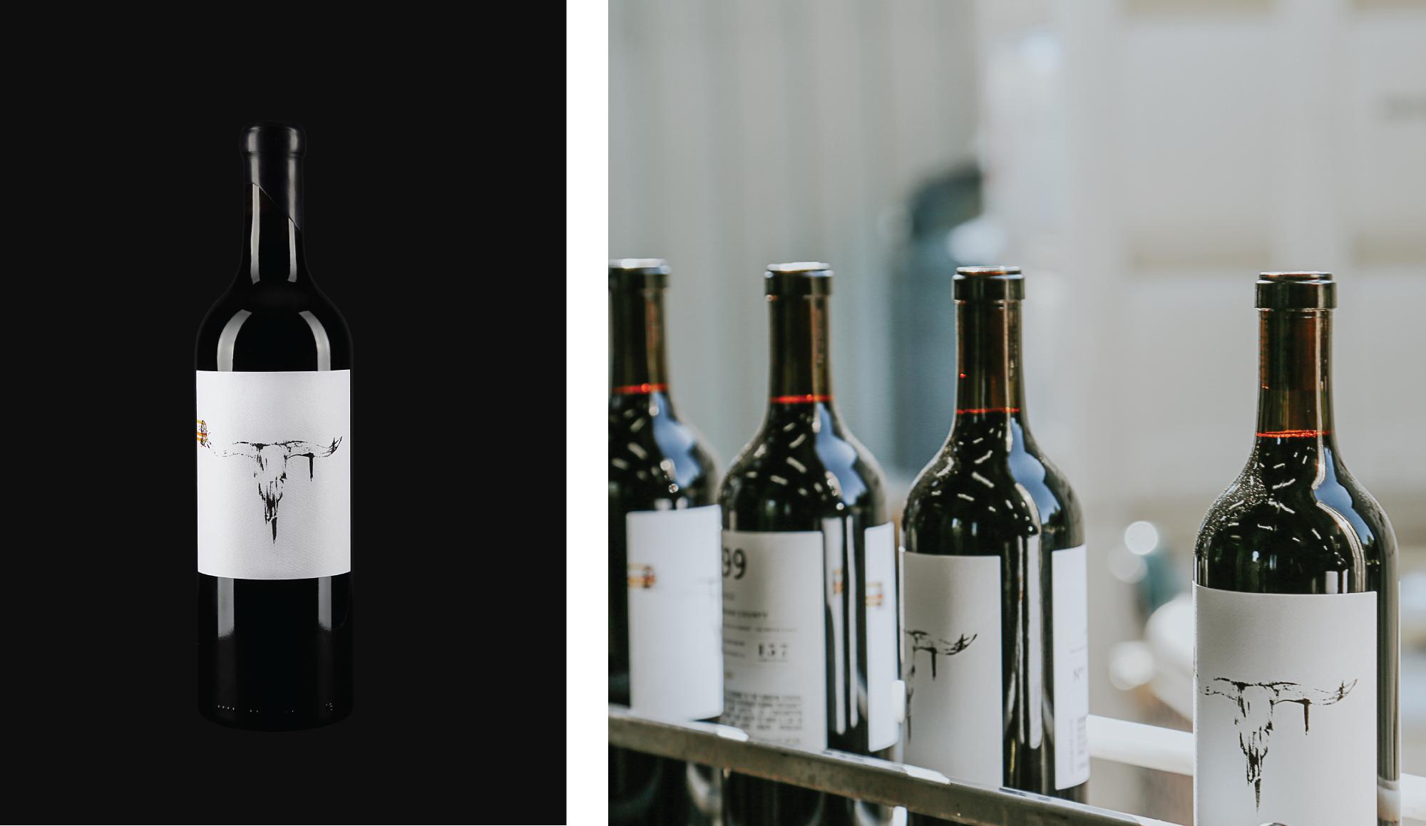 Amarie Design Co. Wine Label Design