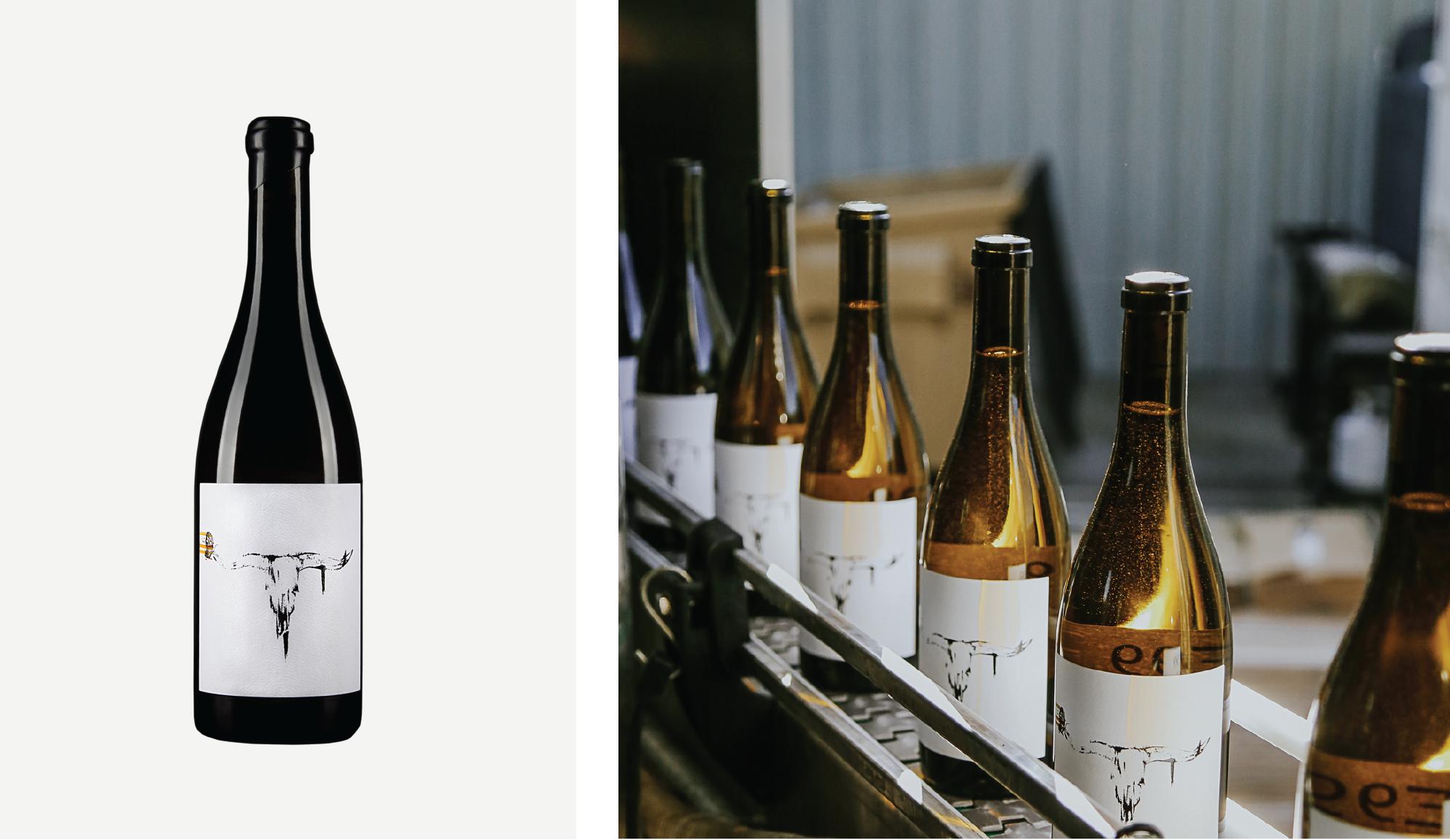 Amarie Design Co. Wine Label Design for Levo Wine E99